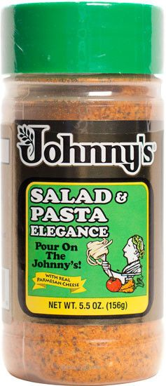 Johnny's Salad & Pasta Elegance, 5.5-Ounce - Spices, Seasonings & Extracts - Tac City Goods Co - 1 Link in the bio
