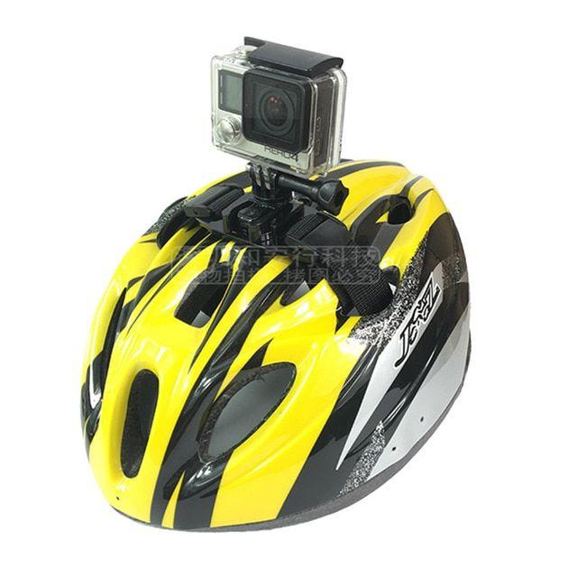 Bike Helmet Belts Hard Hats Strap Mount For Gopro Hero 7 6 5 4 3
