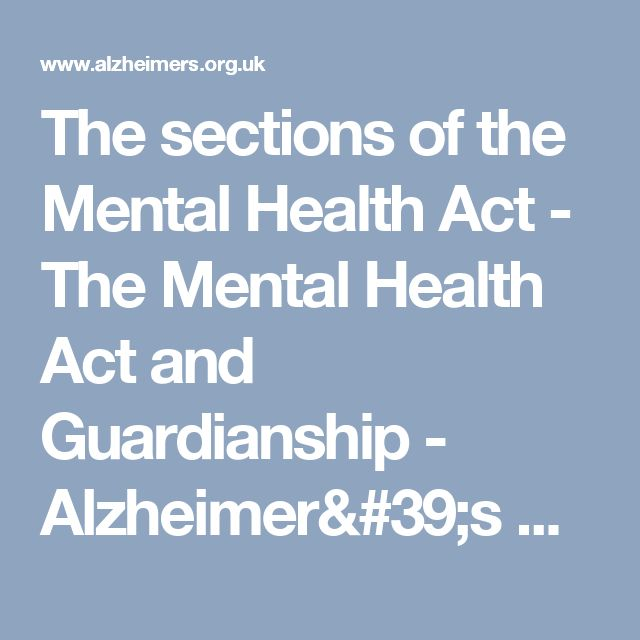 sections of the mental health act Mental health services act (mhsa) announcements mental health services act (amended in 2012) accuracy and timeliness of mhsa reporting by counties 6/30/2010.