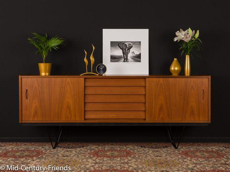 978 best mid century interior images on pinterest for Sofa 50er 60er