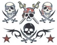 Pirate Skulls Tattoos