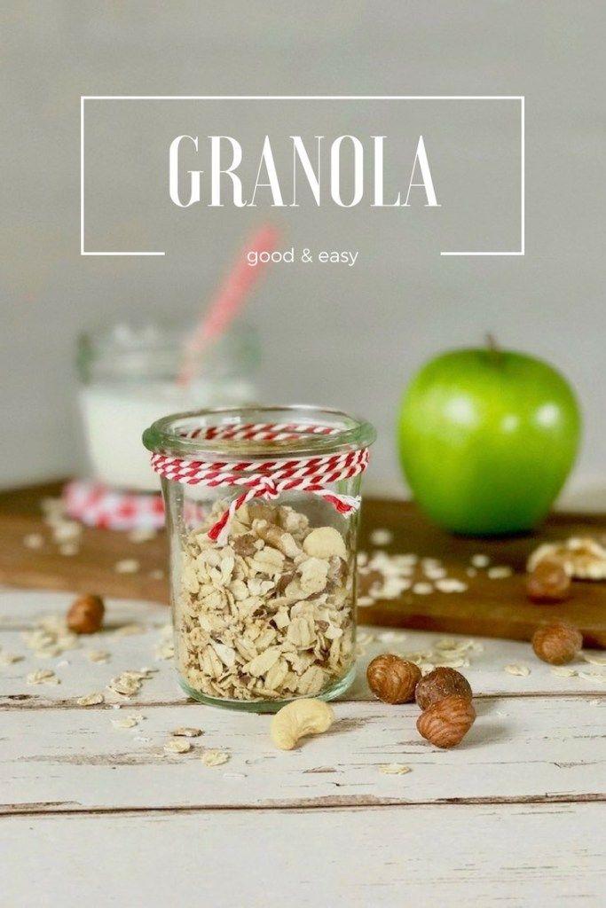 Knuspriges Granola: gesundes Frühstück selbst gemacht