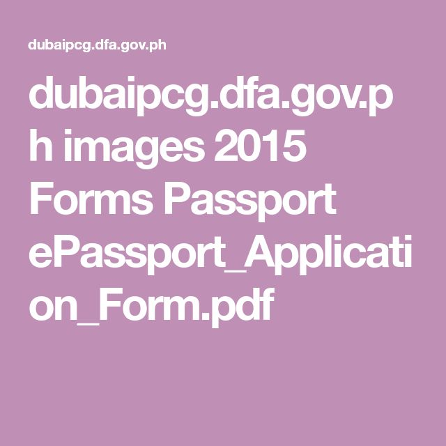 The  Best Passport Application Form Ideas On   Online