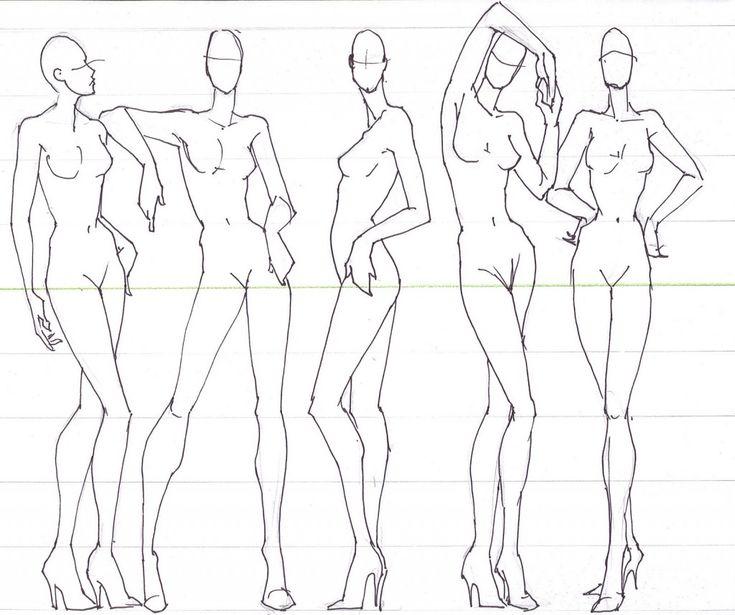 fashion-illustration-lof.jpg (1024×857) Gosto dessa fluidez do corpo para desenhos de moda, sem parecer que é estilizado por ser estilizado.
