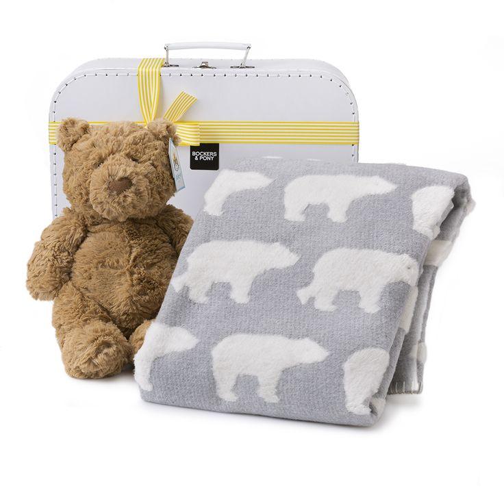 Teddy Bear Baby Gift Hamper | Baby Hampers | Bockers and Pony