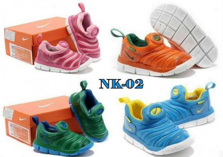 [PRE-ORDER Nike IMPORT] # KODE : NK-02 (Pink,Orange,Blue,Green) @Rp.215.000,- Detail Size : 25(15,5cm)-26(16,5cm)-27(17cm)-28(17,5cm)-29(18,5cm)-30(19cm)-31(20cm)-32(20,5cm)-33(21cm)-34(22cm)-35(22,5cm)-36(23cm)  Ketentuan (PO) : - RETAIL tidak ada minimum order - GROSIR min.6psg bole mix model,warna dan size, harga kurangi 25rb/psg - PO ditutup Tgl.10 Maret,brg tiba pertengahan April (pertimbangkan keterlambatan) - DP min.50%,sisanya dilunasi saat brg ready, brg dikirim setelah lunas…