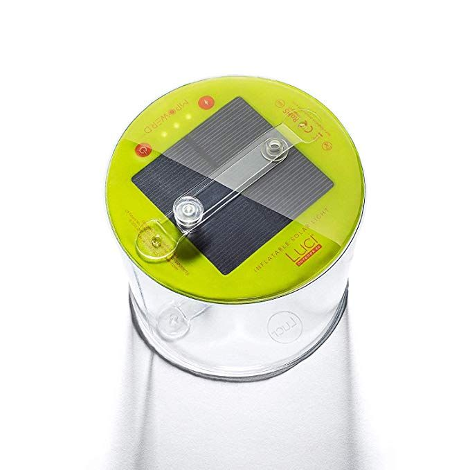 Luci Inflatable 3 in 1 Emergency Solar Outdoor Camping Light Lantern