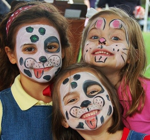 Tips For Face Painting For Halloween