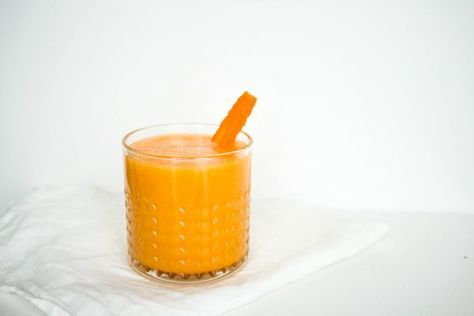 Wortel-peer-gember smoothie