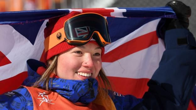 Winter Olympics Great Britains Izzy Atkin Wins Bronze In The Womens Ski Slopestyle
