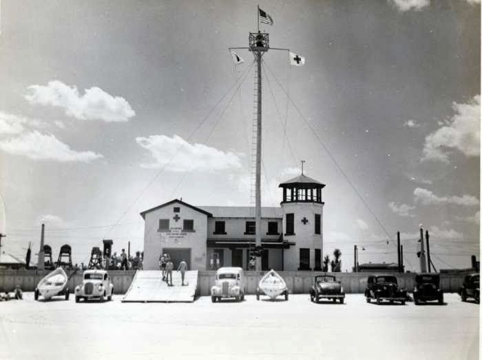 Jax Beach Lifeguard Station, 1942