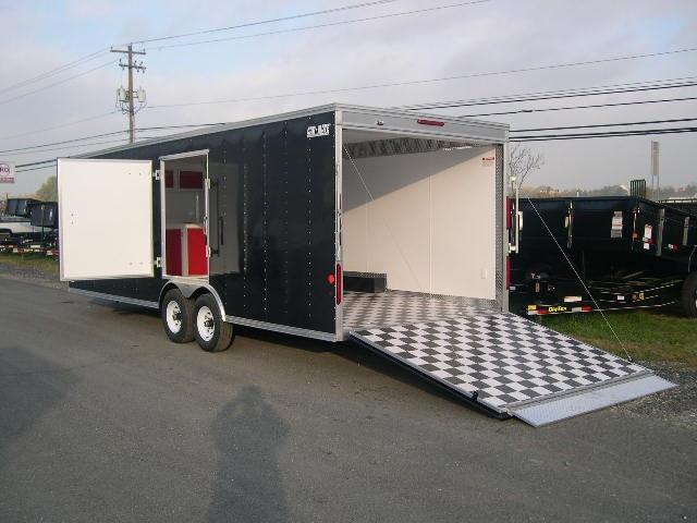 CarMate enclosed car #trailer