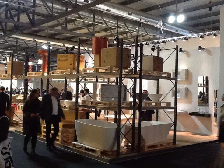 Rapsel booth at Salone in Milano