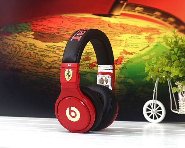 Beats By Dre Pro Ferrari Red Limited Edition Headphones $399.95  $199.98