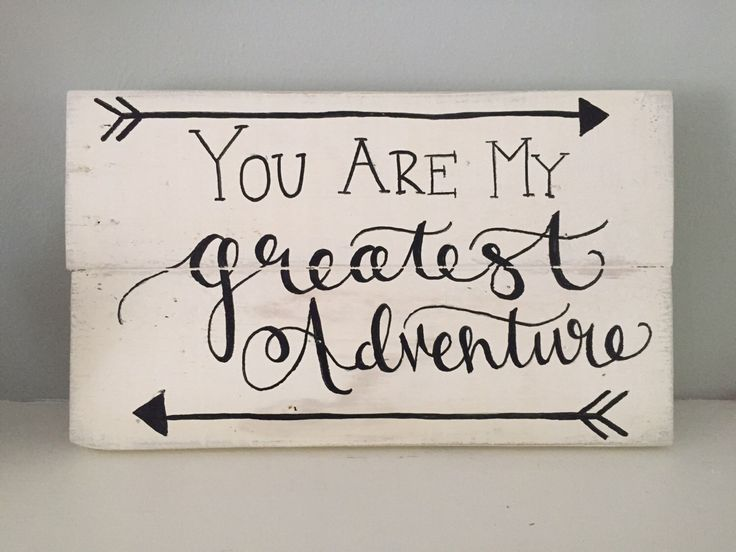 Rustic Home Decor You Are My Greatest Adventure Sign Disney S Up Sign Disney Wedding Anniversary Gift Reclaimed Wood Hand Painted Sign