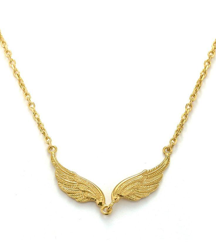 Tulola Garuda Necklace Gold Dip http://www.shoptulola.com/collections/garuda-necklace-gold-dip.html #SophieParis