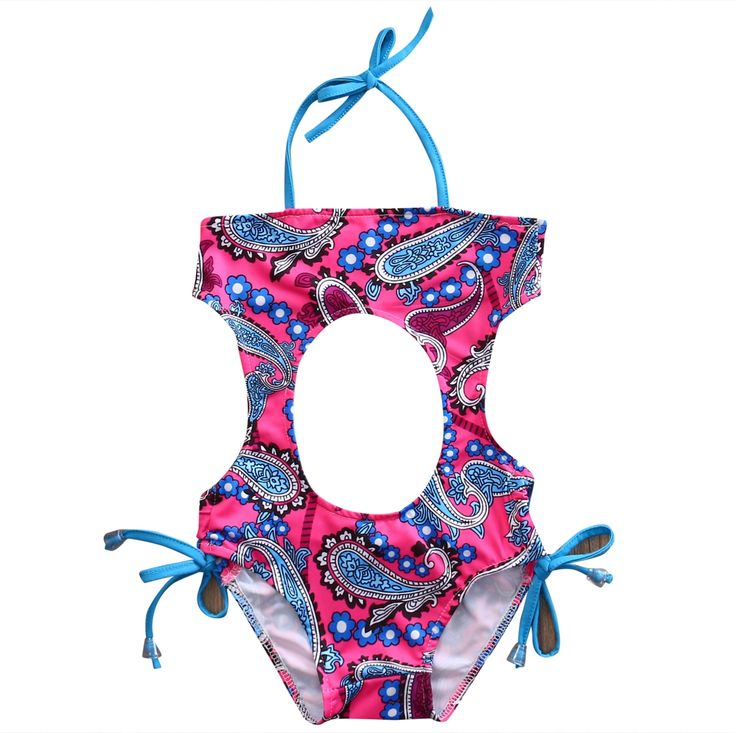 4.37$  Buy now - http://aliu0d.shopchina.info/go.php?t=32808881181 - One Piece Hollow out 2017 New Summer Baby Toddler Infant Kids Children Bikini Swimwear Swimsuit Swimming Costume Beachwear  #buyininternet