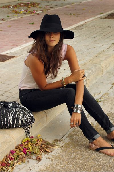 Fashion, Summer Looks, Clothing, Summer Style, Street Style, Outfit, Hats Hair, Casual Looks, Floppy Hats