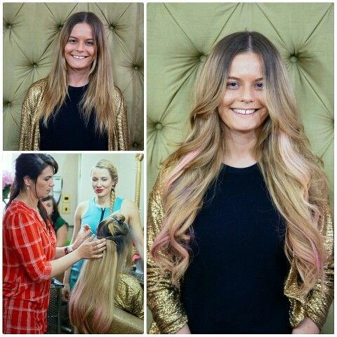 351 best work by tatiana karelina images on pinterest daughters pink streaks hair extensions by tatiana hair extensions pmusecretfo Images