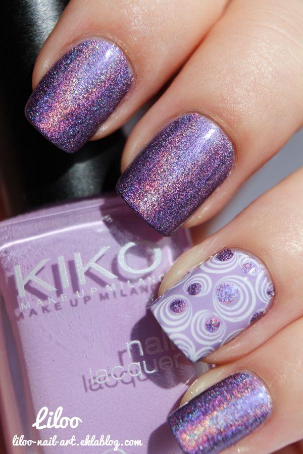 Pupa holographique violet 035 et sa déco …   Liloo