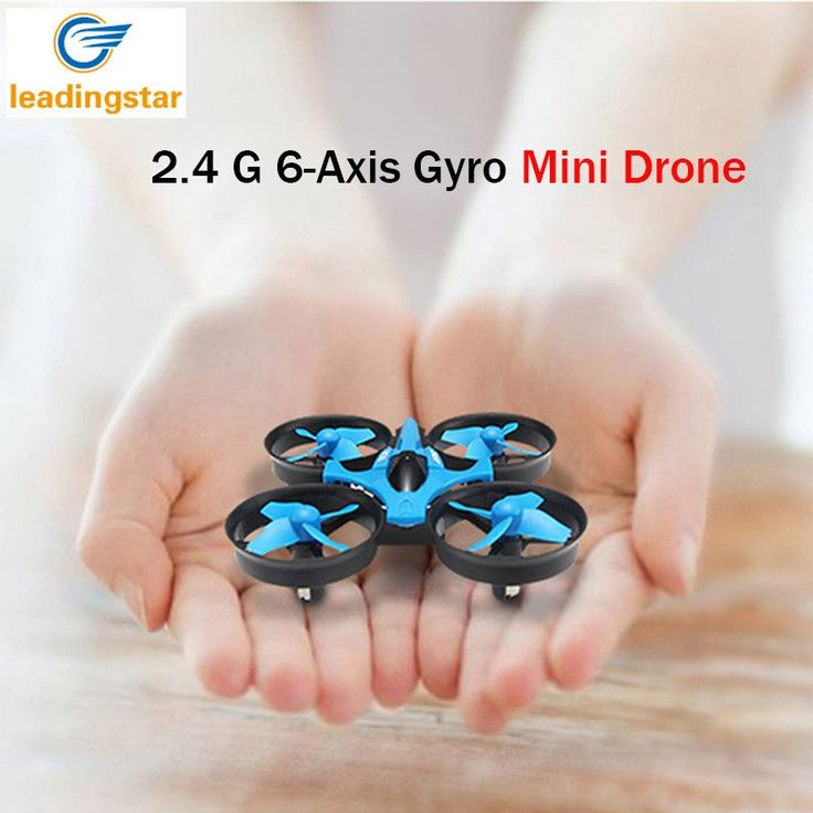 Mini Drone H36 RC Quadcopter 2.4G 6-Axis Gyro 4 Channels LED Headless Mode