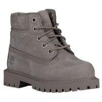 "Timberland 6"" Premium Waterproof Boots - Boys' Toddler - Grey / Grey"