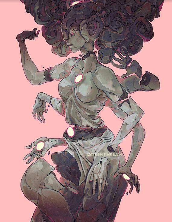Coey: Gem Temple, Steven Universe (Print)
