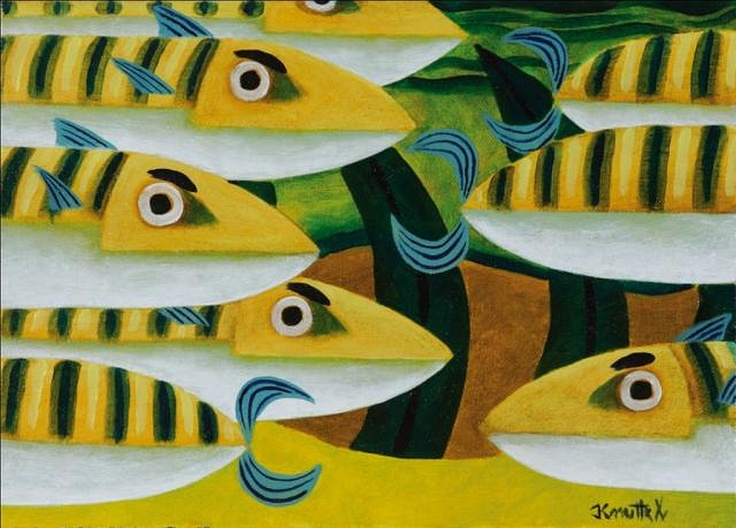 Graham Knuttel, Something Fishy