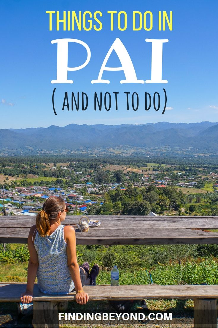 There are lots of things to do in Pai, Thailand. Some are great, some not so great. Read this to make sure you see the best attractions and skip the worst.