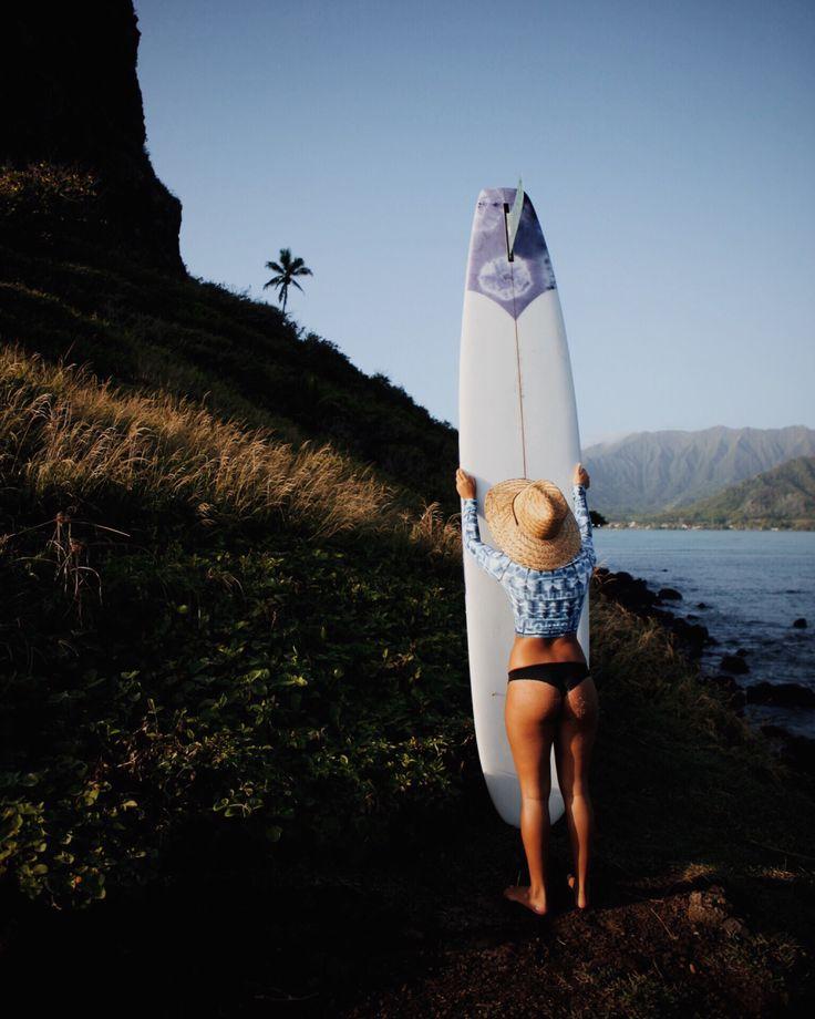 beach babe // surfer gal