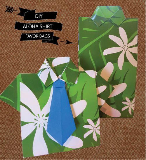 gold bangles price in usa DIY Aloha Shirt Favor Bags amp Origami Tie Hawaii Wedding Love