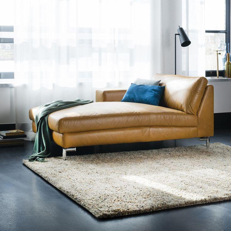 Leren Longchair van Made for you by Topform