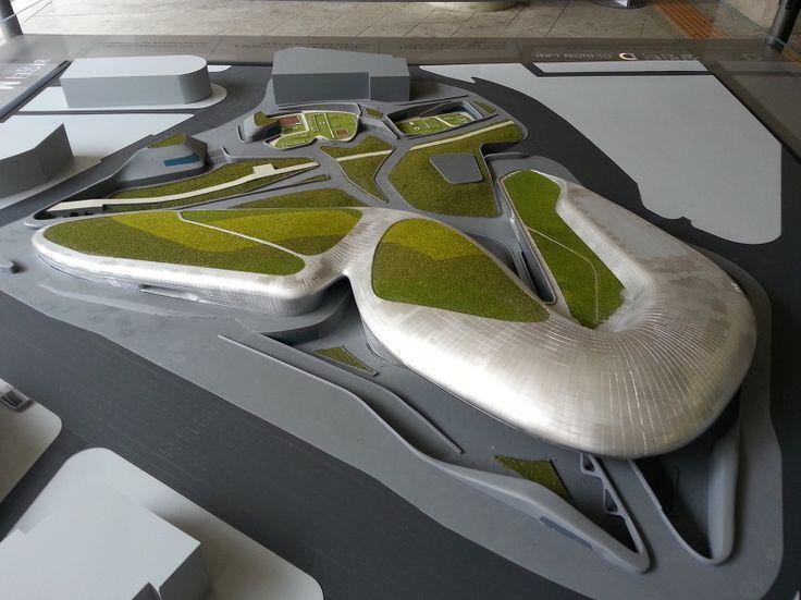 서울 동대문디자인플라자(DDP, Dong daemun Design Plaza, Seoul Korea) : 자하 하디드(Zaha Hadid)가 설계한 우주선 형태의 세계 최대의 비정형 건축물