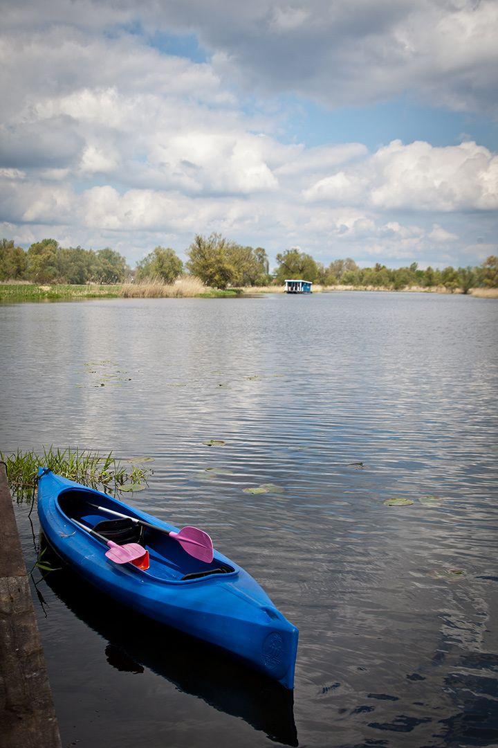 Mit dem Bungalowboot und dem Kanu im Revier Brandenburg/Havel