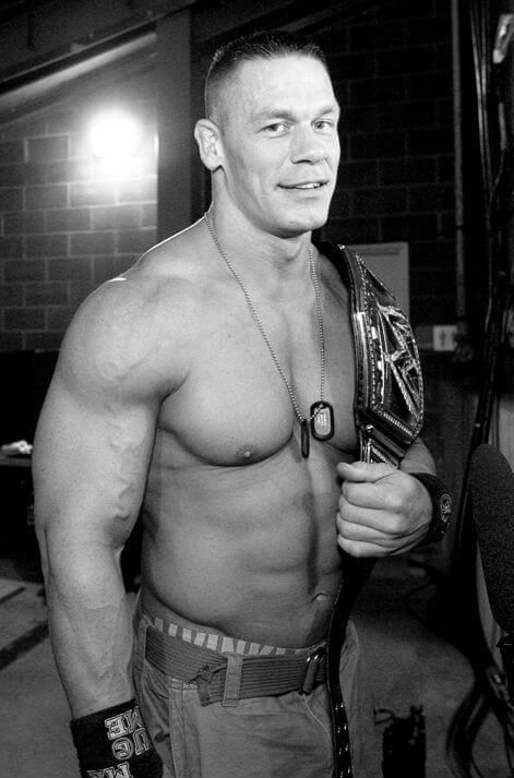 John Felix Anthony Cena is an American professional wrestler, bodybuilder, rapper, and actor