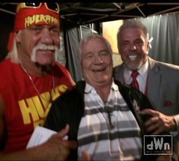 Photo of The Ultimate Warrior, Hulk Hogan & Pat Patterson at RAW http://dailywrestlingnews.com/?p=58836