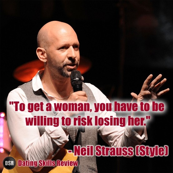 Neil strauss online dating