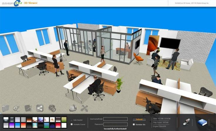 Home Decor, The Elegant Office Room Of The Virtual Floorplanner With The Great And Best Design With Some Furniture That Put Neatly With Some People Too That Look So Neat And Great For The Best Office ~ The Modern Design Of The Virtual Floor Planner For Your Reference