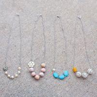 Diy asymmetrical necklace. Sarah Ortega, I wish you were my best friend :)