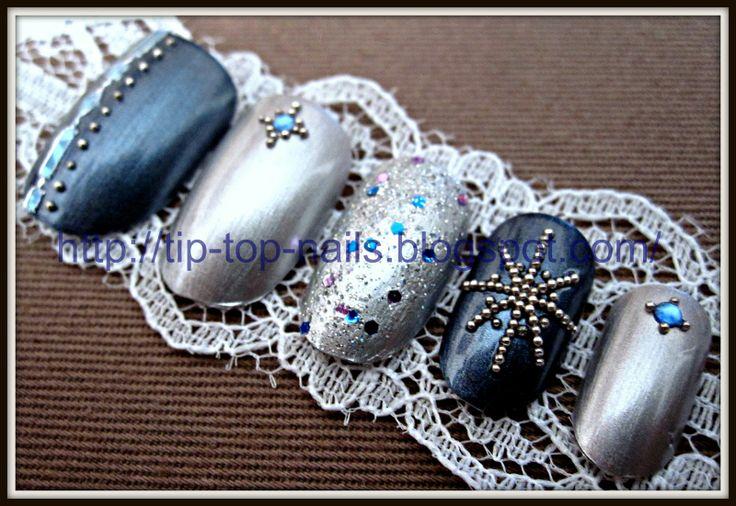 winter nail design snowflake nail art icy nails frosty nail winter nail arts 1600x1102
