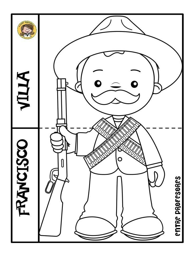 Pin De Daniela En Escuela Revolucion Mexicana Para Colorear Revolucion Mexicana Para Ninos Revolucion Mexicana Dibujos