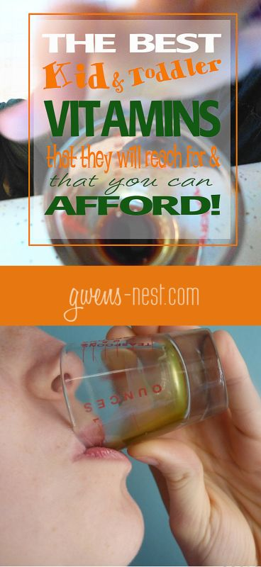 the BEST kid and toddler vitamins that they'll reach for and that you can afford!