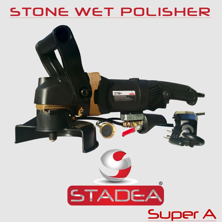 Stadea wet stone polisher variable speed grinder polisher for wet dry grinding polishing concrete stone granite using diamond pads