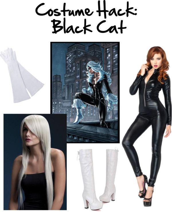 Black Cat #Cosplay #Halloween #marvel