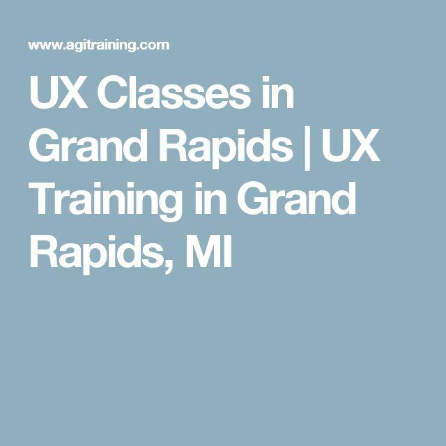 UX Classes in Grand Rapids  | UX Training in Grand Rapids, MI
