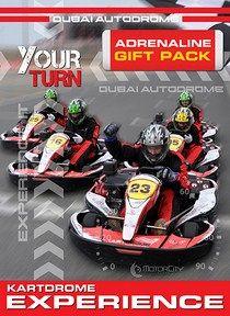 Dubai Autodrome is the best place in Dubai to get your heart racing. The Adrenaline Voucher and sticker available. #aido #autodrome