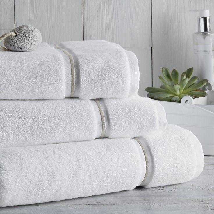 Savoy Towels | Towels | Bathroom | Home | The White Company UK