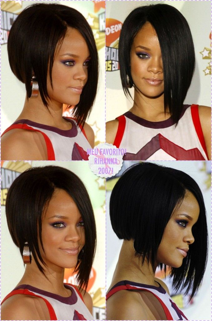 O corte de cabelo da vez: Chanel invertido!
