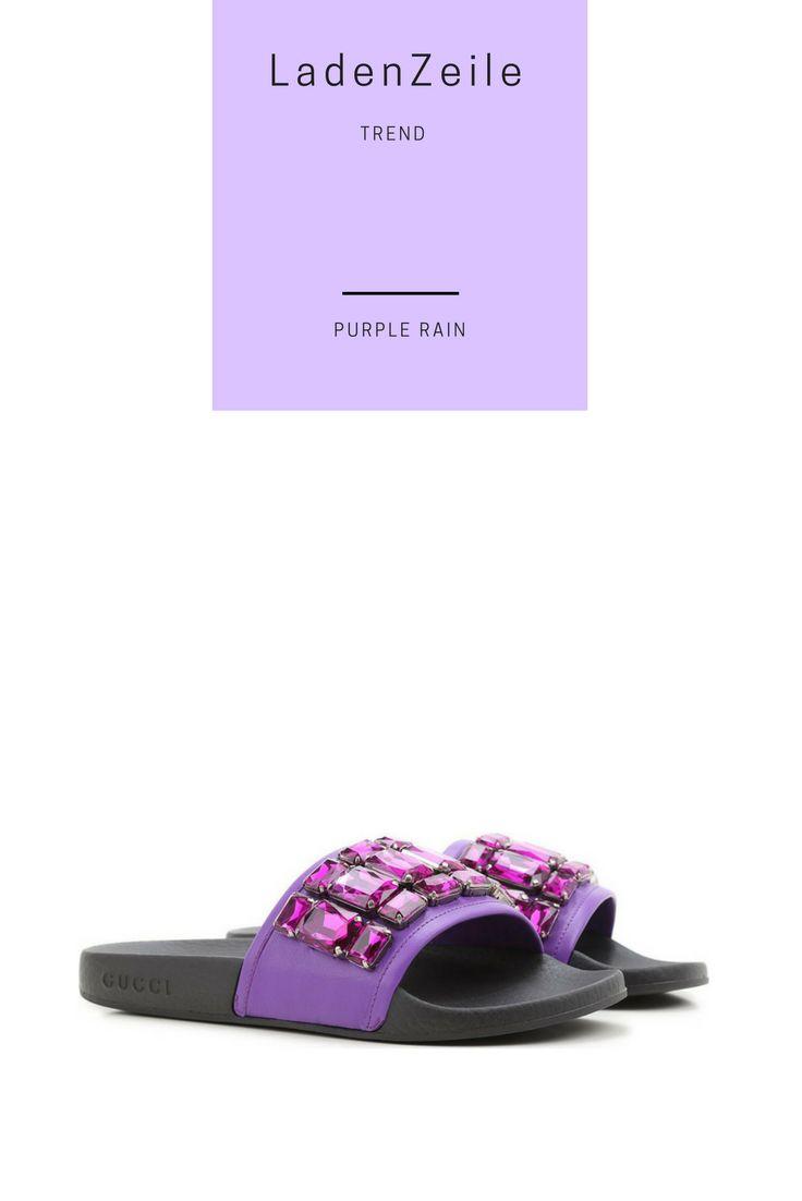 Damenschuhe von GUCCI im Sale auf http://www.ladenzeile.de/detail/521434414/  #lila #purple