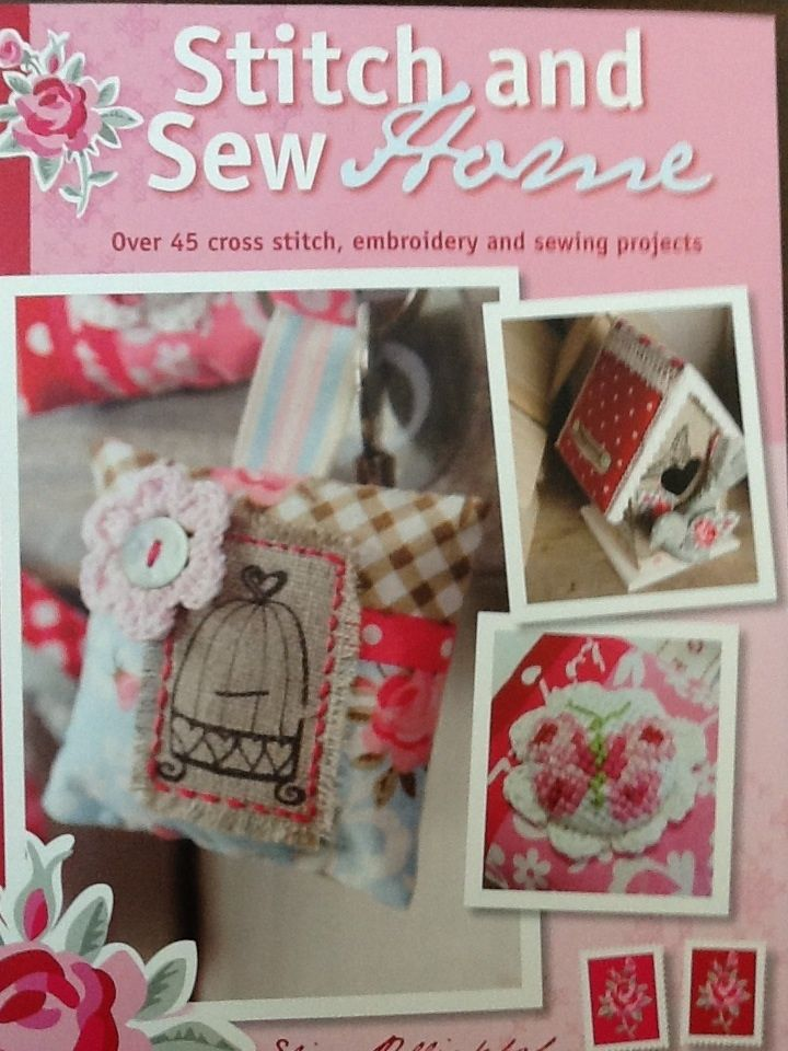 45 cross stitch , embroidery and sewing projects